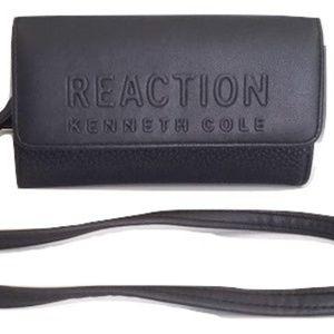 Kenneth Cole Reaction black Mini Cross Body bag